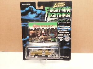 Johnny Lightning The Munstres Drag-U-La w / Rubber tires - Fright'ing Lightning