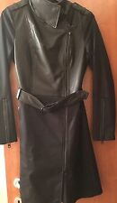 NWOT Beautiful Mackage Coat. Leather Front Size Xs