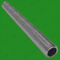 2x M10 100mm x 10mm Allthread Hollow Threaded Rod Tube, Electrical Lamp Socket
