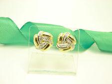 Gute Ohrschmuck im Ohrstecker-Stil aus mehrfarbigem Gold mit Diamanten