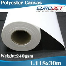 Blank Polyester Canvas Artists Canvas Printable Canvas Rolls 1.118x30M