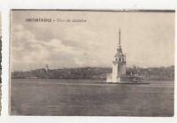 Constantinople Tour de Leandre Turkey Vintage Postcard 344a ^