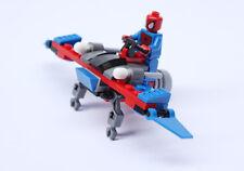 2 Sets Super Heroes Marvel Batman Spiderman Vehicle No Box Fit lego #4