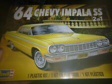 REVELL 85-4487 1964 CHEVY IMPALA HARDTOP LOWRIDER/STOCK 2n1 KIT 1/25 McM FS