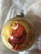 11 Norman Rockwell Christmas Ornaments-Dave Grossman Collection