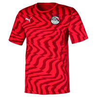 PUMA Egypt Mens Home Shirt 2020 2021 Red Football Replica Jersey