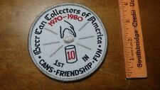 BEER CAN COLLECTOR OF AMERICA  BUDWEISER      PATCH   BX C # 11