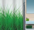 Hierva Verde cortina de ducha tela 180 x 200 cm. Suizo Artículos Marca