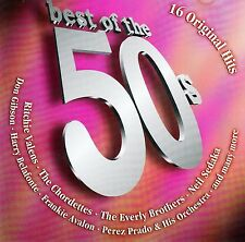 Best of the 50s - 16 Original Hits/CD (BMG Ariola Miller 2002) - Top Condition
