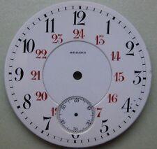 GENUINE VINTAGE REGINA POCKET WATCH PORCELAIN DIAL WHITE dia 42.61 mm NOS UNUSED