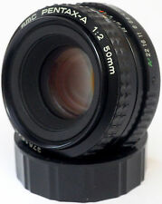 SMC Pentax-A 50mm F2 Lens For Pentax K Mount! Good Condition!