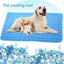 Cooling Mat for Dogs and Cats Self-Cooling Dog Bed Summer Sleeping Cool Pad S-Xl