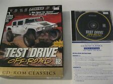 Test Drive Off-Road CD-ROM big box complete Accolade 1997