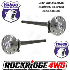 Jeep Wrangler JK Rubicon 07-18 Dana 44 32 Spline Chromoly Rear Axle Kit Yukon