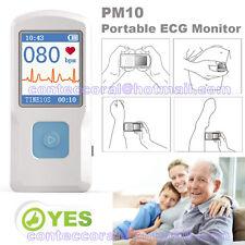 La machine de poche ECG ECG, LCD couleur, électrocardiogramme,