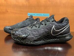 Nike Air Zoom Vapor Cage 4 HC Rafa x Tiger Black Tennis Men's Size 9 CD0424-005