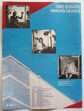 DIRE STRAITS 1980 POSTER ADVERT MAKING MOVIES