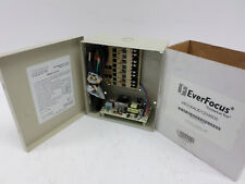 EverFocus 12V 4A DCR4-3.5-2UL Master Power Supply w/ Keys 4B02XAUD1204800  -NIB!