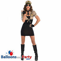 Adults Womens Police Officer Shakedown Sheriff Cop Fancy Dress Party Costume