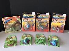 VTG MOC Dinosaur Wind Up Toy Lot - Imperial Robotsaurus - Lanard - Dragon Toys