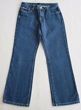 Vtg Denim TOMMY HILFIGER Hip Hop BUTTON FLY Straight Leg JAMIL Mom Jeans Sz 9