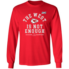 Men's Kansas City Chiefs The West Is Not Enough Division Champion T-Shirt M-3XL