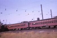 PRR PENNSYLVANIA RAILROAD Train Cars Coach Original 1964 Photo Slide