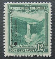 nystamps Colombia Waterlow Color Proof Stamp MH NG Only 100 Exist.    O22x312