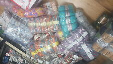 JOB LOT WOOL new ASSORTED COLOURS hand knitting wool YARN MEGGA DEAL500 BALL 004