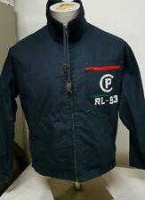 VTG. Ralph Lauren ~ CP RL-93 Full Zip ~ Cotton Jacket Blue ~ Small ~ RARE