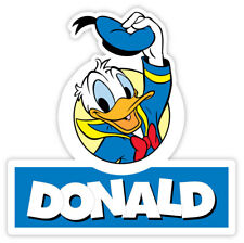 "Donald Duck hello sticker decal 4"" x 4"""
