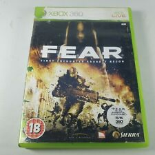Fear First Encounter Assault Recon Xbox 360 Action Video Game PAL