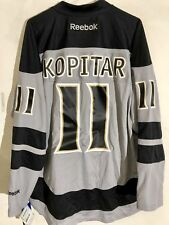 Reebok Premier NHL Jersey Los Angeles Kings Anze Kopitar Grey sz L