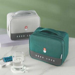 Thickened Layered Medicine Box Large Capacity Portable Medicine Box Storage Bag
