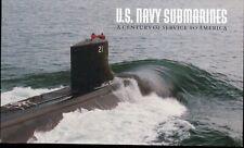 BK279 Navy Submarines Booklet Both Pane's 3377a(1)(2) , Scott # 3373-77