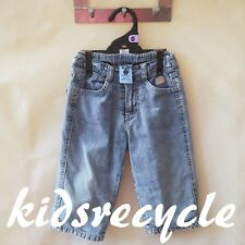 PUMPKIN PATCH Baby BOYS Unisex GIRLS Kids lined Chambray Denim Jeans Pants SZ 0