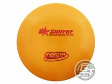 New Innova Gstar Shryke 167g Orange Red Foil Distance Driver Golf Disc