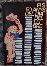 Els 50 Anys Del Dia Dell Llibre Lasarte 1976 Barcelona paperback