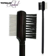 TOTALLY Lashed - Eyelash Definer Precision Lash Mascara Comb Metal Teeth & Brush