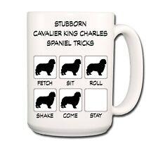 Cavalier King Charles Spaniel Stubborn Tricks Extra Large 15oz Coffee Mug