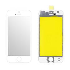 Frontglas Displayglas Apple iPhone 5 VORMONTIERT an den Displayrahmen Weiß