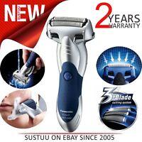 Panasonic ESSL41S│3 Blade Wet/Dry Mens Electric Smart Shaver│Cordless│WR│Silver