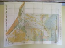 "1906 Antique Map San Marcus Texas Lockhart Kyle 34 X 26"" #8551"