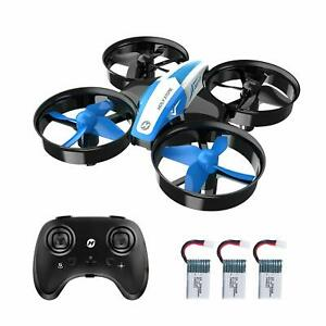 Holy Stone Mini Drone HS210 RC Quadcopter Helicopter 3 Battery 3D Flip for Kids