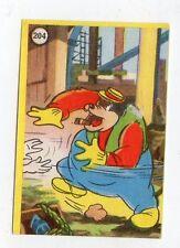 figurina - LAMPO TOPOLINO E PAPERINO - numero 204