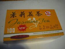 New ! 100PK Sprouting Jasmine Tea Bags 200g 7.05 oz Chinese Green Tea