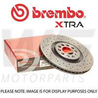 Brembo Xtra 256mm Front Brake Discs for VW POLO (6R, 6C) 1.2 TSI