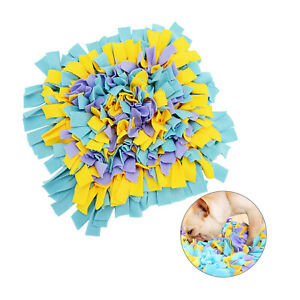 45cm Dog Puppy Snuffle Mat Pet Puzzle Toy Sniffing Nose Training Pad 2 Colour