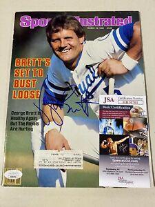 George Brett Signed Sports Illustrated 3/12/84 Fanatics JSA COA Autograph Royals