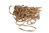 "50 Piece Bag of Tan Rubber Bands Size #64 - 3 1⁄2"" x 1⁄4"" Latex Free"